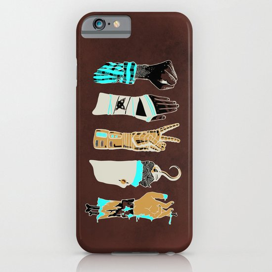 Epic Rock Paper Scissors Battle iPhone & iPod Case