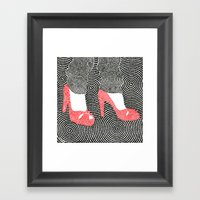 High Heel 2 Framed Art Print