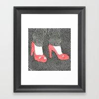 High Heel 2 Framed Art Print