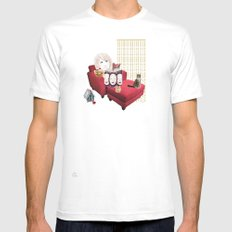Sam Camp Mens Fitted Tee White SMALL