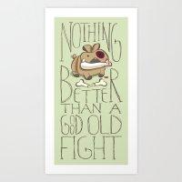 Bone Killer Art Print