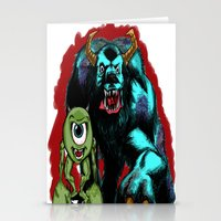 Mike & Sully... Stationery Cards