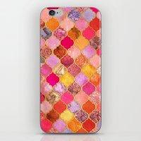 Hot Pink, Gold, Tangerin… iPhone & iPod Skin