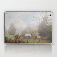 Foggy Sheds Laptop & iPad Skin