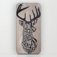 Rudolph And Friends iPhone & iPod Skin