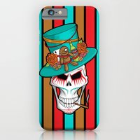 iPhone & iPod Case featuring Day of the Dead Voodoo Lord by SL Scheibe