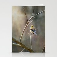 Morning Goldfinch Stationery Cards