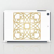 Golden Flower iPad Case