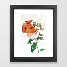 Invisible Essentials Framed Art Print
