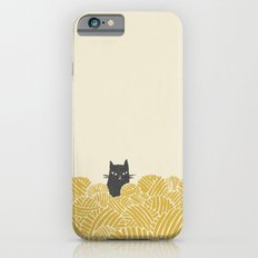 Cat and Yarn iPhone 6 Slim Case