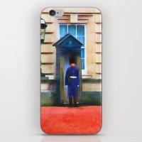 Queens Guard iPhone & iPod Skin