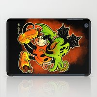 MICKTHULHU MOUSE (color) iPad Case
