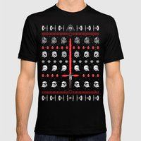The dark side Mens Fitted Tee Black SMALL