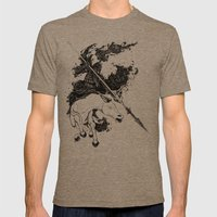 War Mens Fitted Tee Tri-Coffee SMALL