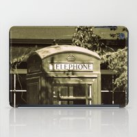 Telephone iPad Case