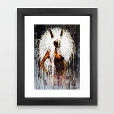 Velveteen Framed Art Print