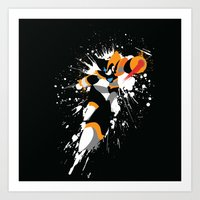 Bass/Forte Splattery Exp… Art Print