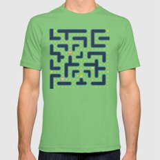 Pacman Mens Fitted Tee Grass SMALL