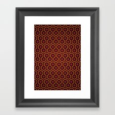 The Shining Pattern Framed Art Print