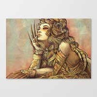 Zodiac Sign: Leo Canvas Print