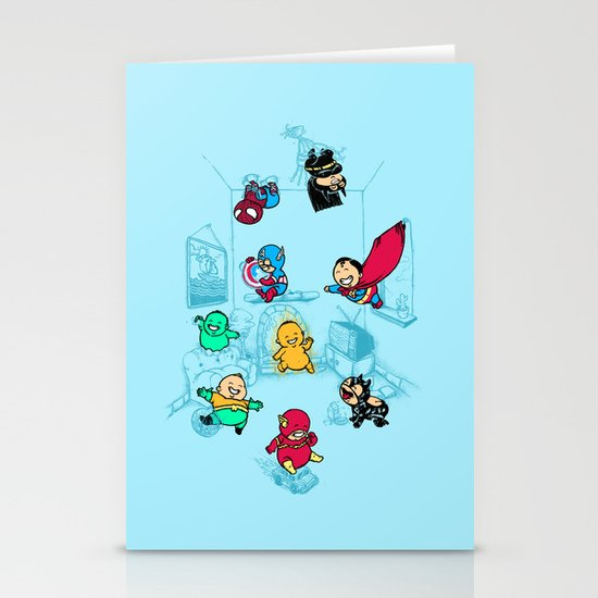 They Were Born This Way Stationery Card