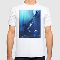 A STRANGE KISS Mens Fitted Tee Ash Grey SMALL