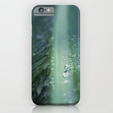 banana leaf rain drops hawaii Slim Case iPhone 6s