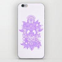 Purple Henna iPhone & iPod Skin