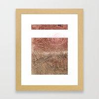 ROUGHKut#032616 Framed Art Print