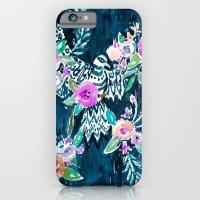 BIRD OF HEY - INDIGO iPhone 6 Slim Case