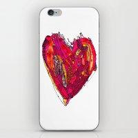 Funky Heart iPhone & iPod Skin