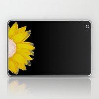 Portrait Of Summer - Yel… Laptop & iPad Skin