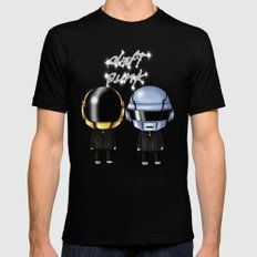 Daft Robots SMALL Mens Fitted Tee Black
