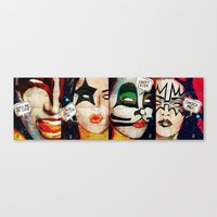 Kiss/Gene Simmons, Paul … Canvas Print