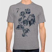 Seven Monkeys Mens Fitted Tee Athletic Grey SMALL