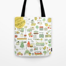 Greetings from Turlock  Tote Bag