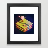 Earth Sandwich One, Variant D Framed Art Print