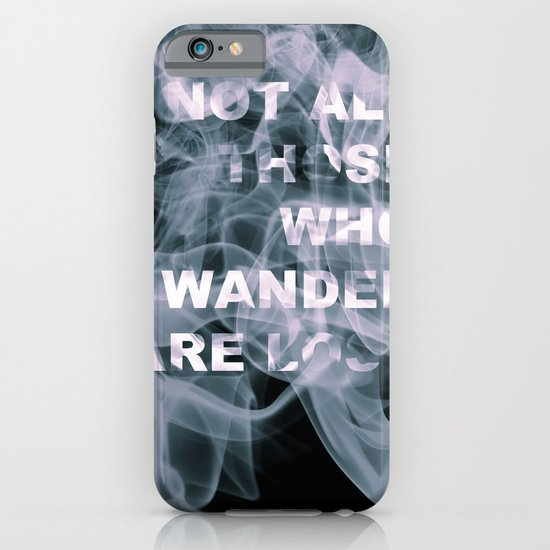 Smoke Quote iPhone & iPod Case
