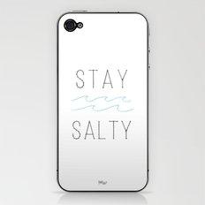 Stay Salty iPhone & iPod Skin