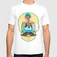 body Mens Fitted Tee White SMALL