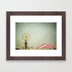 Summer Fair Framed Art Print