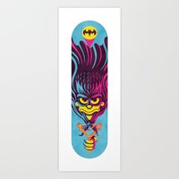 Bartman Strikes! Art Print