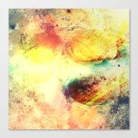 A Vibrant Journey Canvas Print