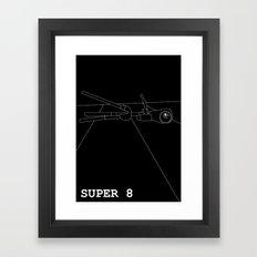 Super 8 Framed Art Print