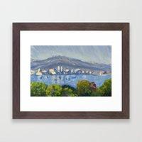 Monet Study Framed Art Print