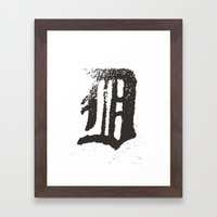 Detroit Framed Art Print