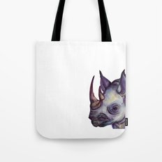 Rhino Blues Tote Bag