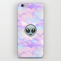Alien Kawaii Emoji iPhone & iPod Skin