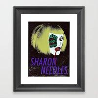 Sharon Needles Poster Framed Art Print