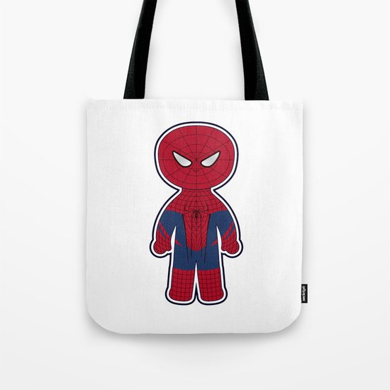 Chibi Spider-man Tote Bag